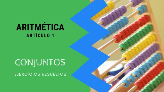 Aritmetica - Conjuntos