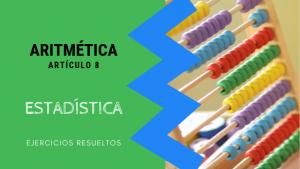 Aritmetica - Estadistica