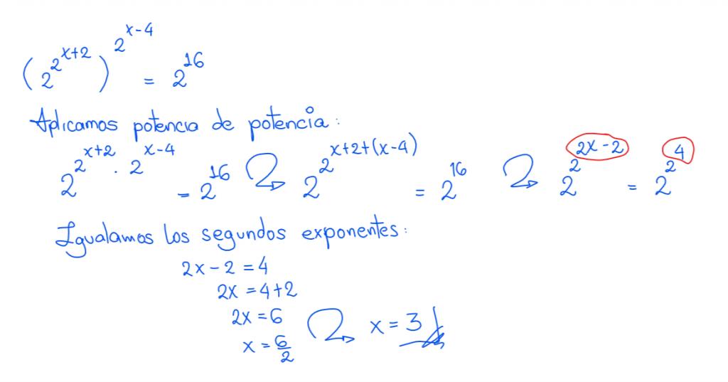 ecuaciones trascendentes ejercicios resueltos 7.2