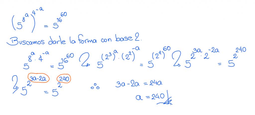 ecuaciones exponenciales ejercicios resueltos 10.2