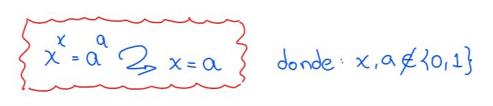 ecuaciones exponenciales caso II