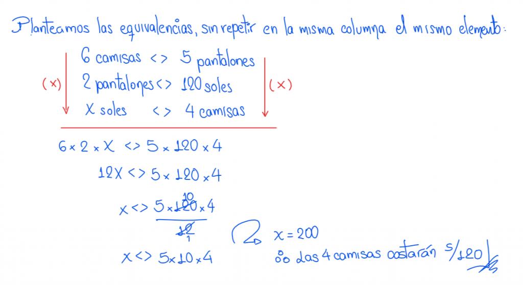 metodo de la regla conjunta ejemplo