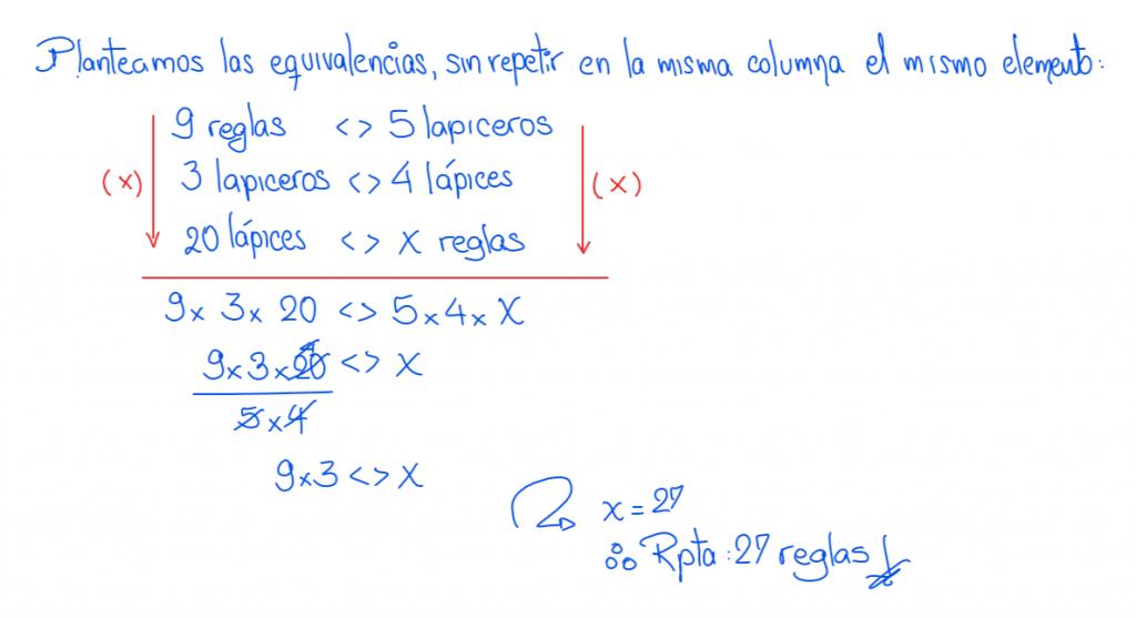 metodo de la regla conjunta ejercicios resueltos 3