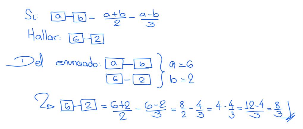 solución 2 nivel secundaria operadores matemáticos