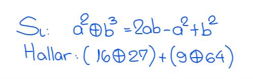 Ejercicio 3 nivel secundaria operadores matemáticos