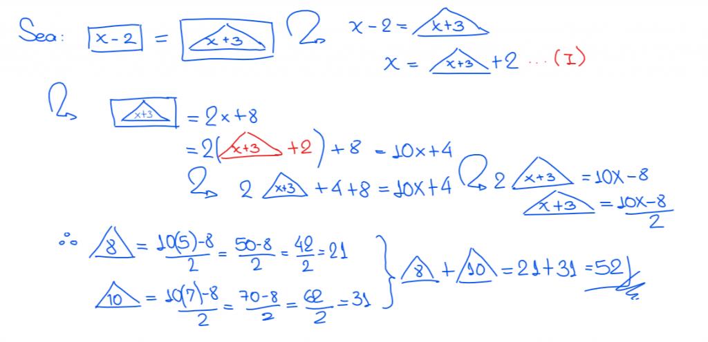 operadores matemáticos solución 9 nivel secundaria