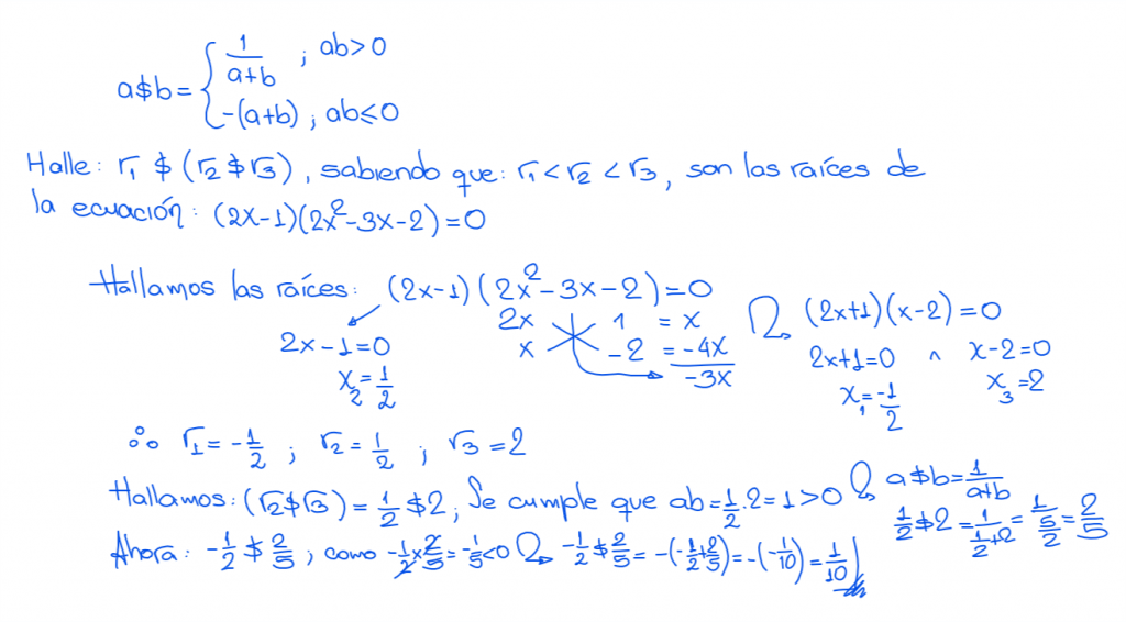 solución 1 unmsm 2010-I