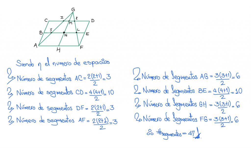 solución - ¿Cuántos triángulos hay?