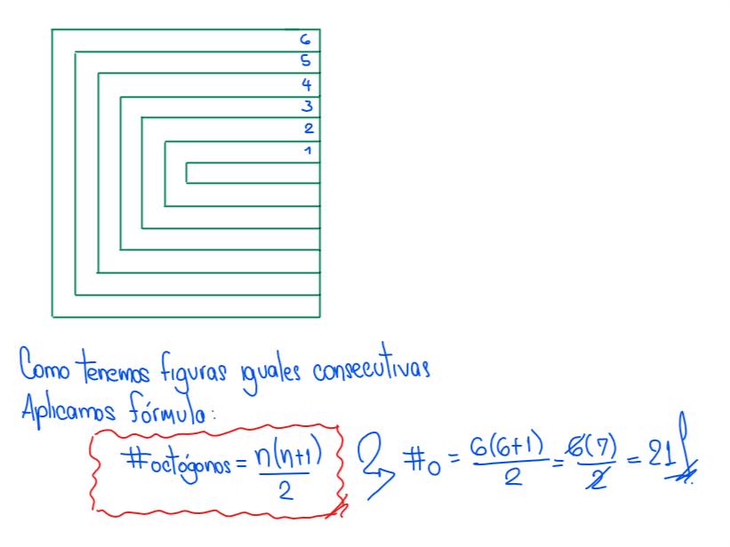 solución - ¿Cuántos octógonos hay en la figura?