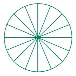 ¿cuántos semi-círculos hay en la figura mostrada?