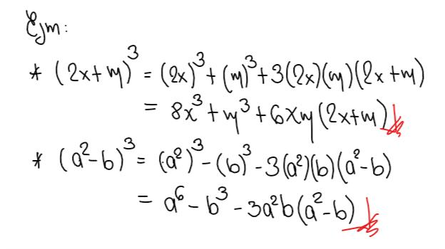 Productos Notables identidades de Cauchy