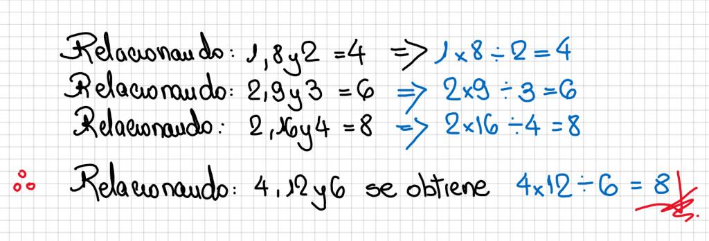 Pregunta 6 Razonamiento Lógico Examen de Nombramaiento