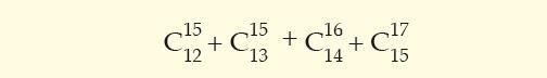 numero combinatorio imagen 40