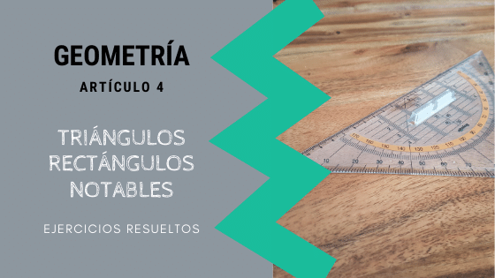 TRIANGULOS RECTÁNGULOS NOTABLES IMAGEN DE PORTADA