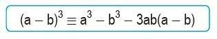 binomio al cubo resta abreviado