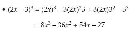 ejemplo de binomio al cubo resta