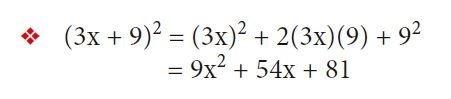 binomio suma al cuadrado ejemplo