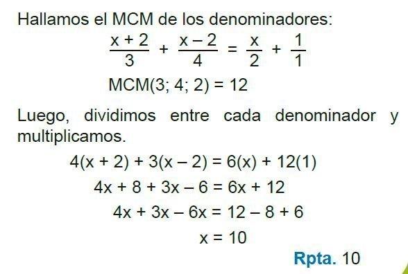 ecuaciones de primer grado imagen 45