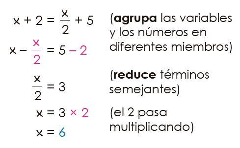 solución de ejercicios - ecuaciones de primer grado