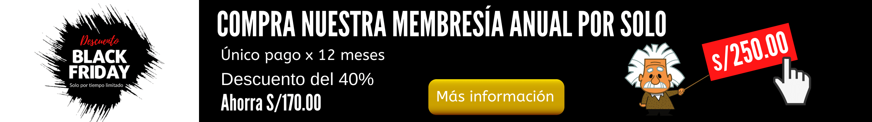 promocion membresia anual