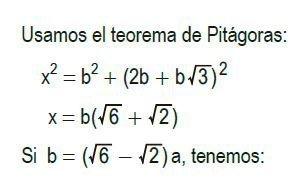 triángulos rectángulos notables imagen 11