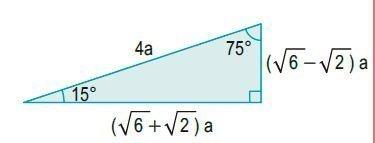 triángulos rectángulos notables imagen 12