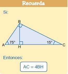 triángulos rectángulos notables imagen 13