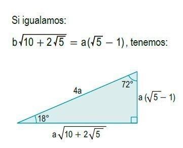 triángulos rectángulos notables imagen 16