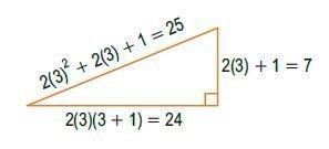triángulos rectángulos notables imagen 31