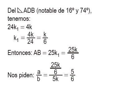 triángulos rectángulos notables imagen 46