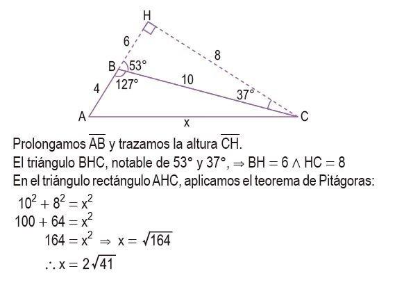 triángulos rectángulos notables imagen 57