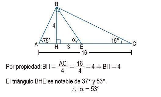 triángulos rectángulos notables imagen 60