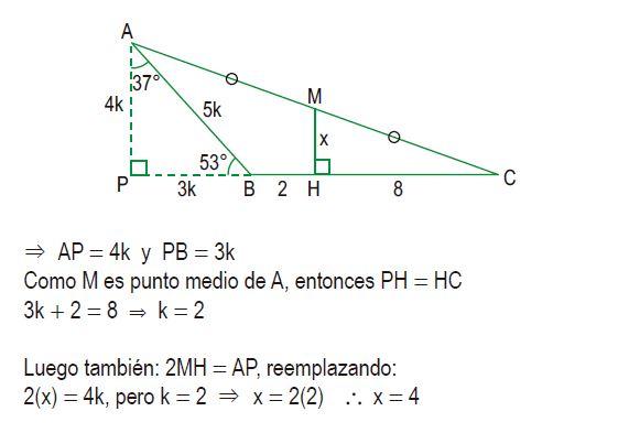 triángulos rectángulos notables imagen 66