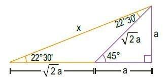 triángulos rectángulos notables imagen 7