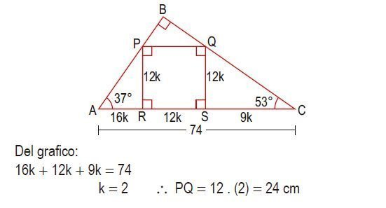 triángulos rectángulos notables imagen 70