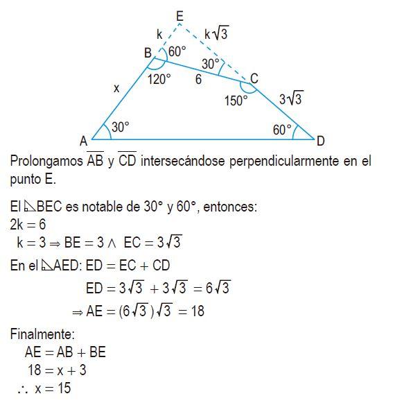 triángulos rectángulos notables imagen 74