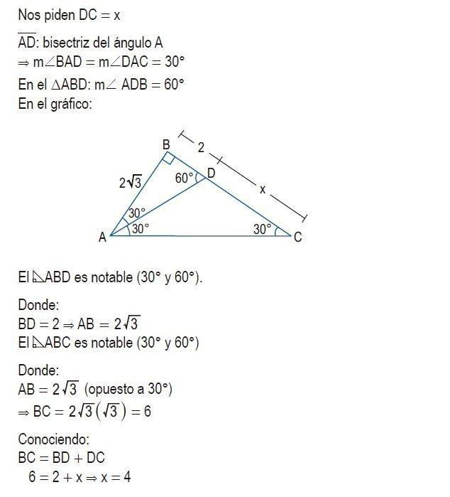 triángulos rectángulos notables imagen 75