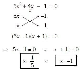 Ecuaciones de segundo grado ejercicios Imagen 13