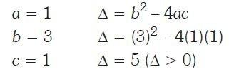 Ecuaciones de segundo grado ejercicios Imagen 5