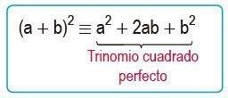 binomio al cuadrado suma