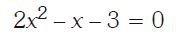 ecuación de segundo grado Imagen 2