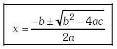 ecuación de segundo grado Imagen 21