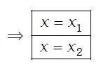 raíces de una ecuación de segundo grado